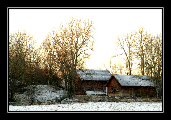 The old farm..